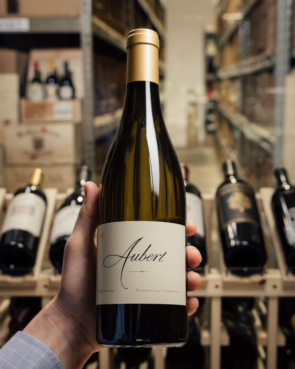 Aubert Chardonnay UV-SL Vineyard 2017  - First Bottle