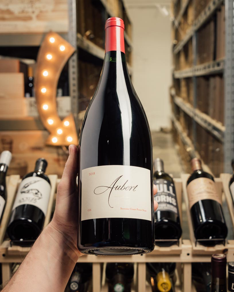 Aubert Pinot Noir CIX Estate Sonoma Coast 2018 (Magnum 1.5L)  - First Bottle