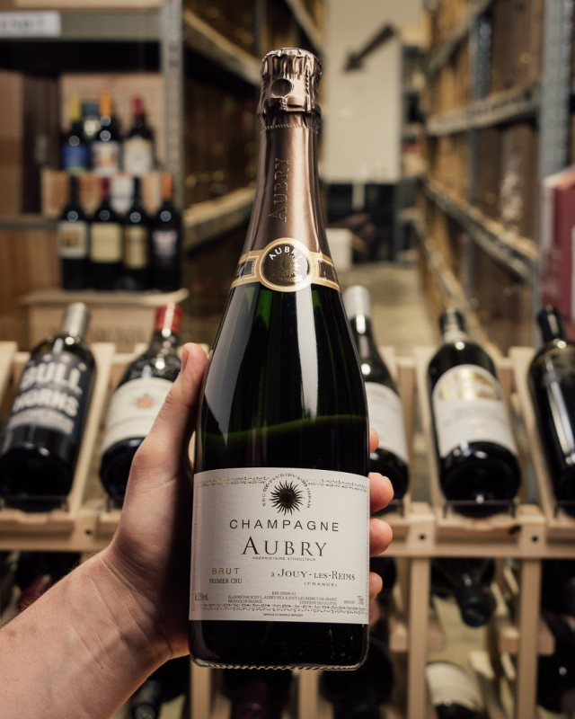 Aubry Brut Premier Cru NV  - First Bottle