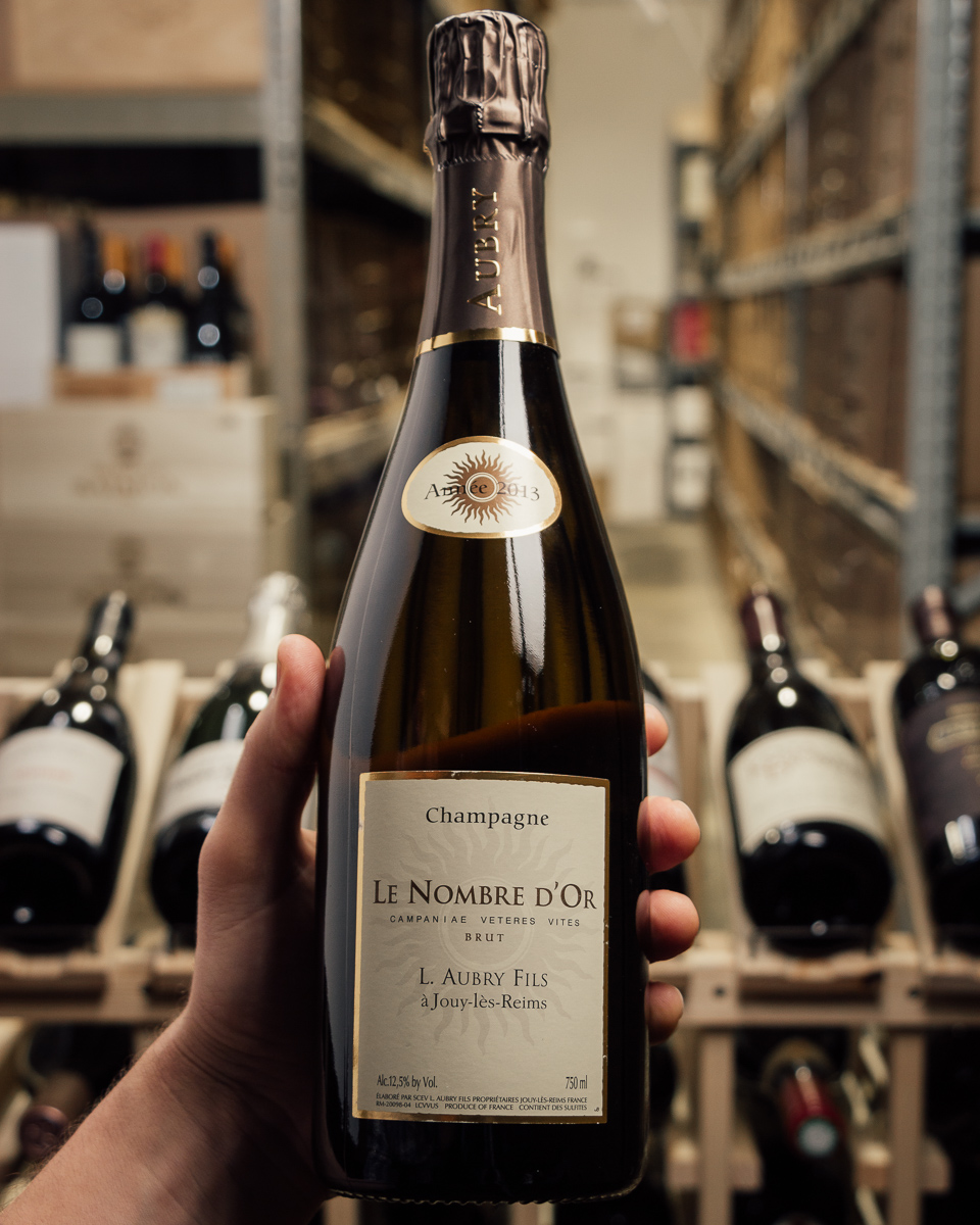 Aubry Le Nombre d'Or Brut 2013  - First Bottle