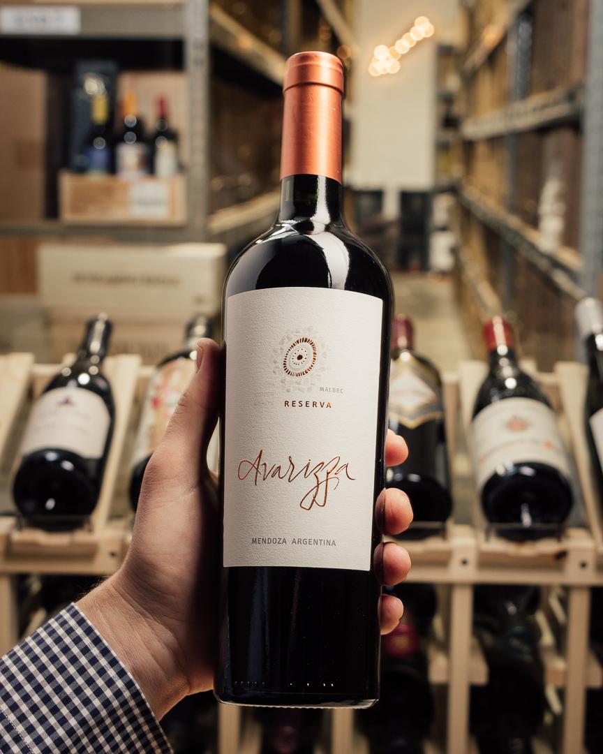 First Bottle Avarizza Malbec Reserva Mendoza 2015