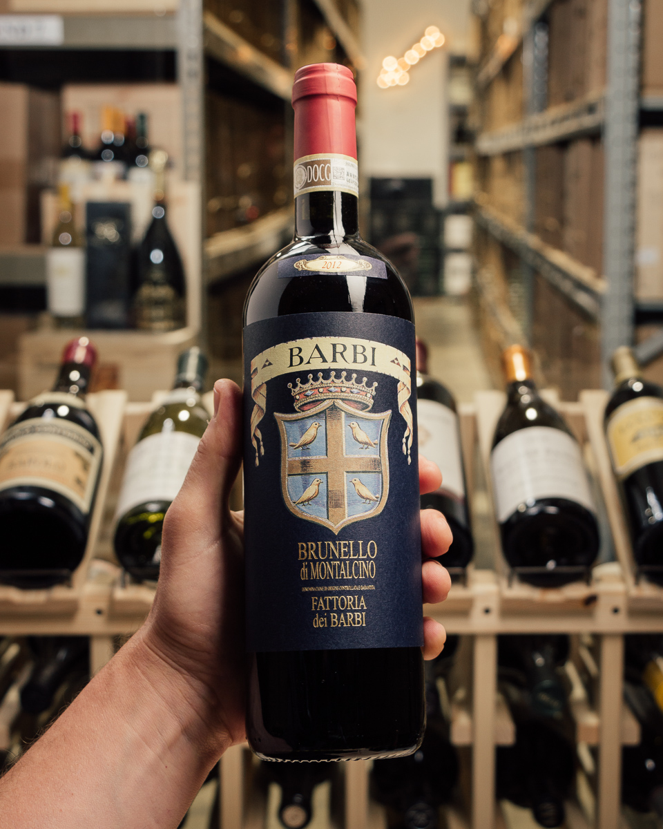 Barbi Brunello di Montalcino 2012  - First Bottle