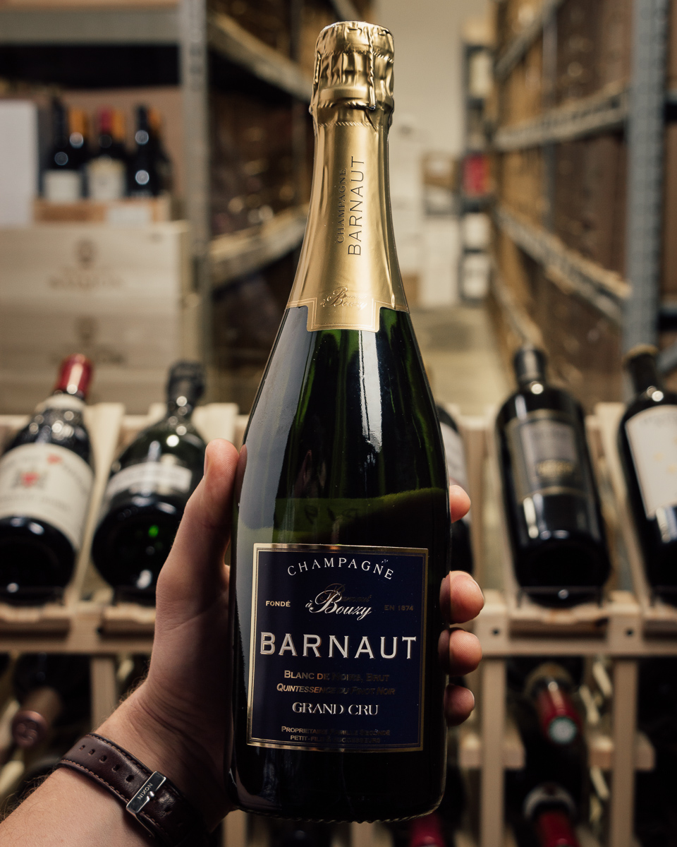 Barnaut Brut Blanc de Noirs Grand Cru Quintessence du Pinot Noir NV  - First Bottle