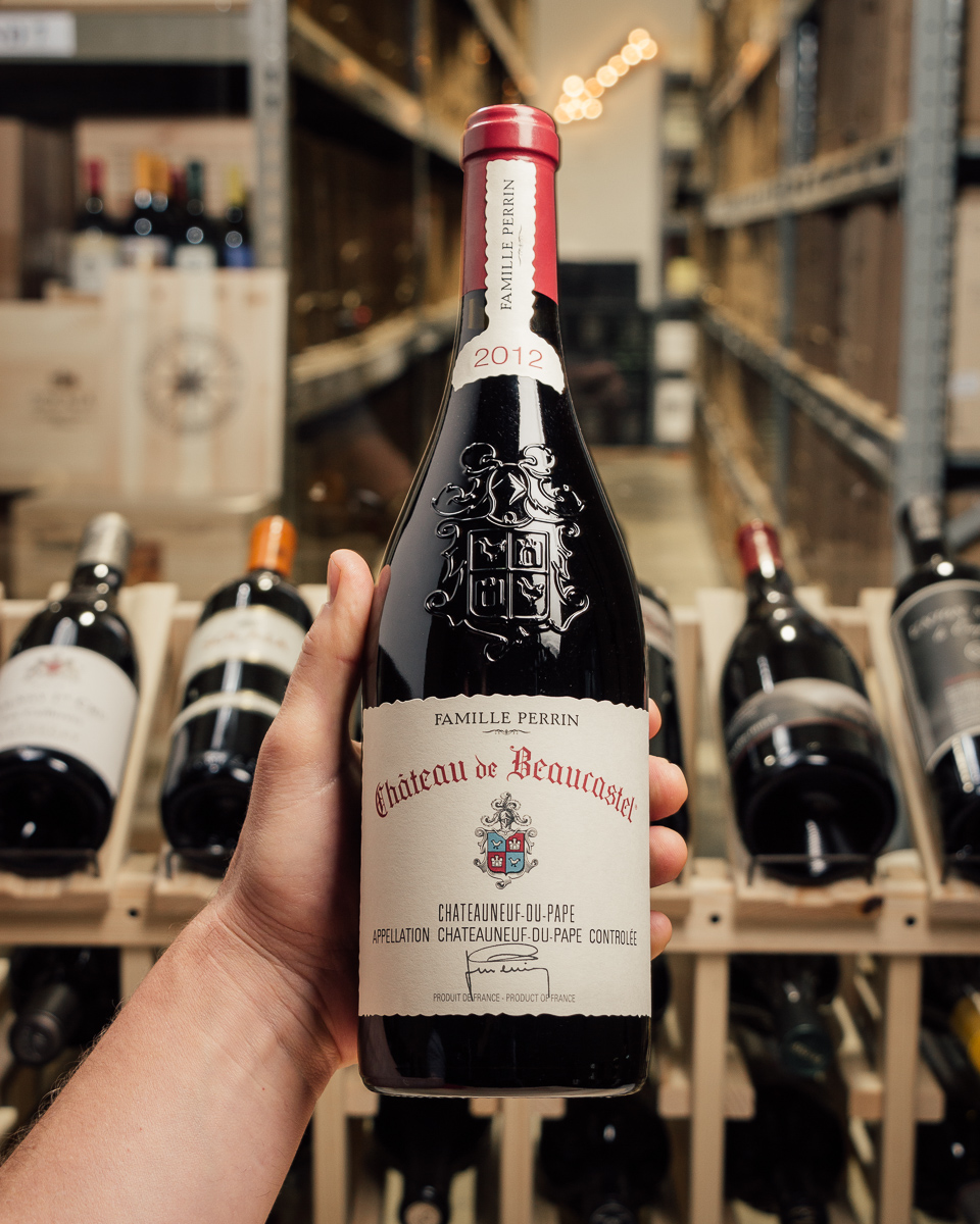 Beaucastel Chateauneuf du Pape 2012  - First Bottle