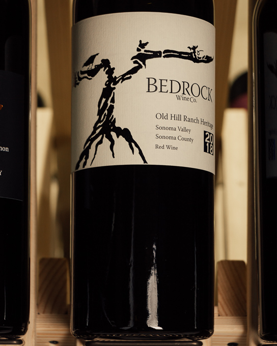Bedrock Old Hill Ranch Heritage Red Sonoma Valley 2018