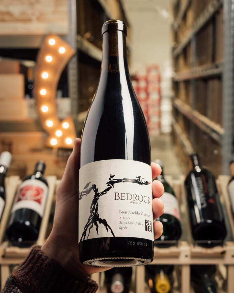 Bedrock Syrah Bien Nacido X Block 2018  - First Bottle