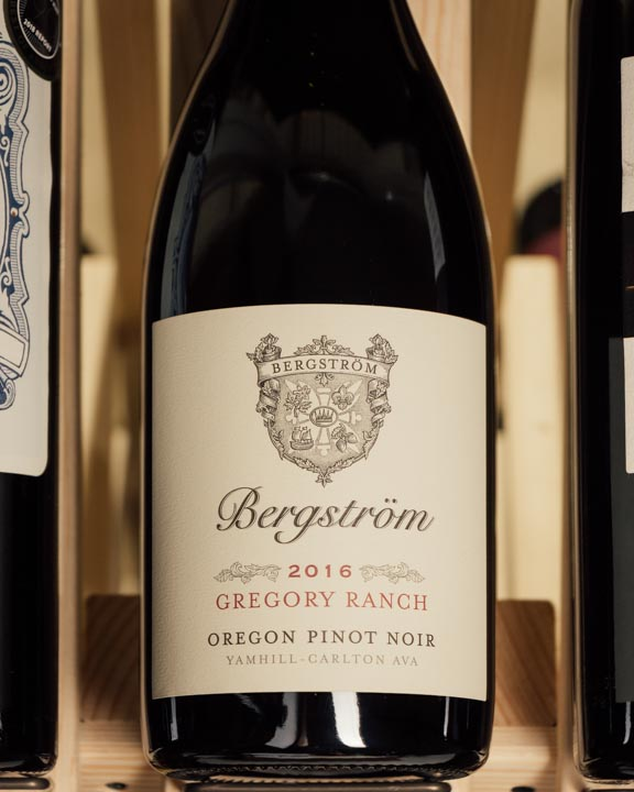 Bergstrom Pinot Noir Gregory Ranch 2016