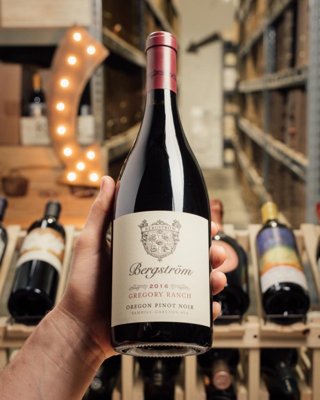 Bergstrom Pinot Noir Gregory Ranch 2016  - First Bottle