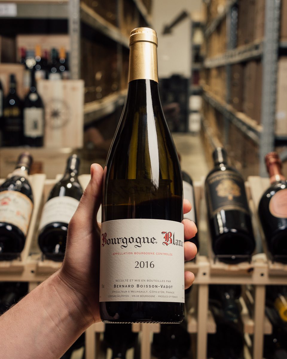 Bernard Boisson-Vadot Bourgogne Blanc 2016  - First Bottle