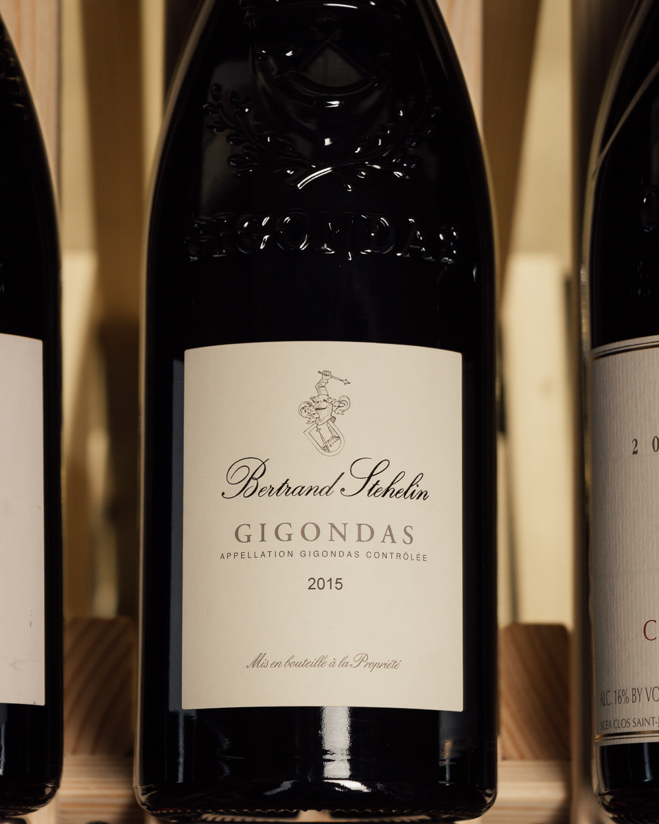 Bertrand Stehelin Gigondas 2015  - First Bottle