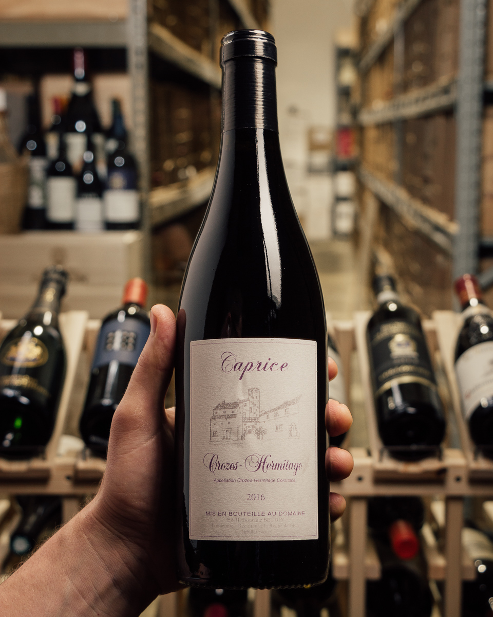Betton Crozes Hermitage Caprice 2016  - First Bottle