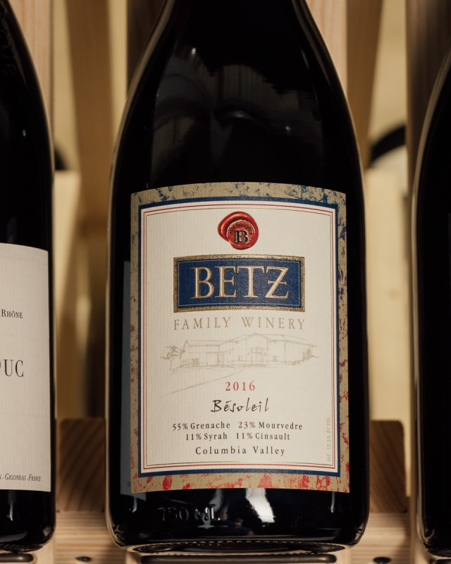 Betz Red Blend Besoleil Columbia Valley 2016