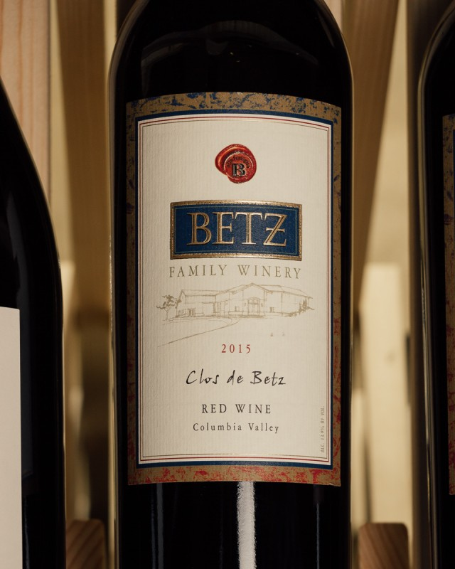 Betz Proprietary Red Clos de Betz Columbia Valley 2015