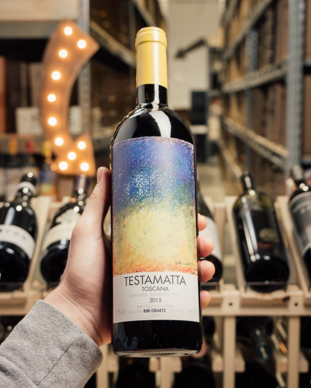 Bibi Graetz Testamatta Toscana 2015  - First Bottle