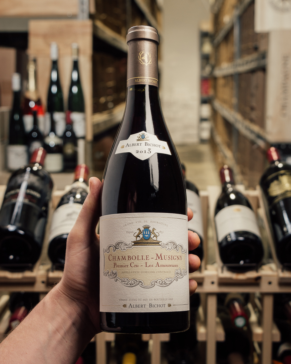 Bichot Chambolle Musigny 1er Cru Les Amoureuses 2013  - First Bottle