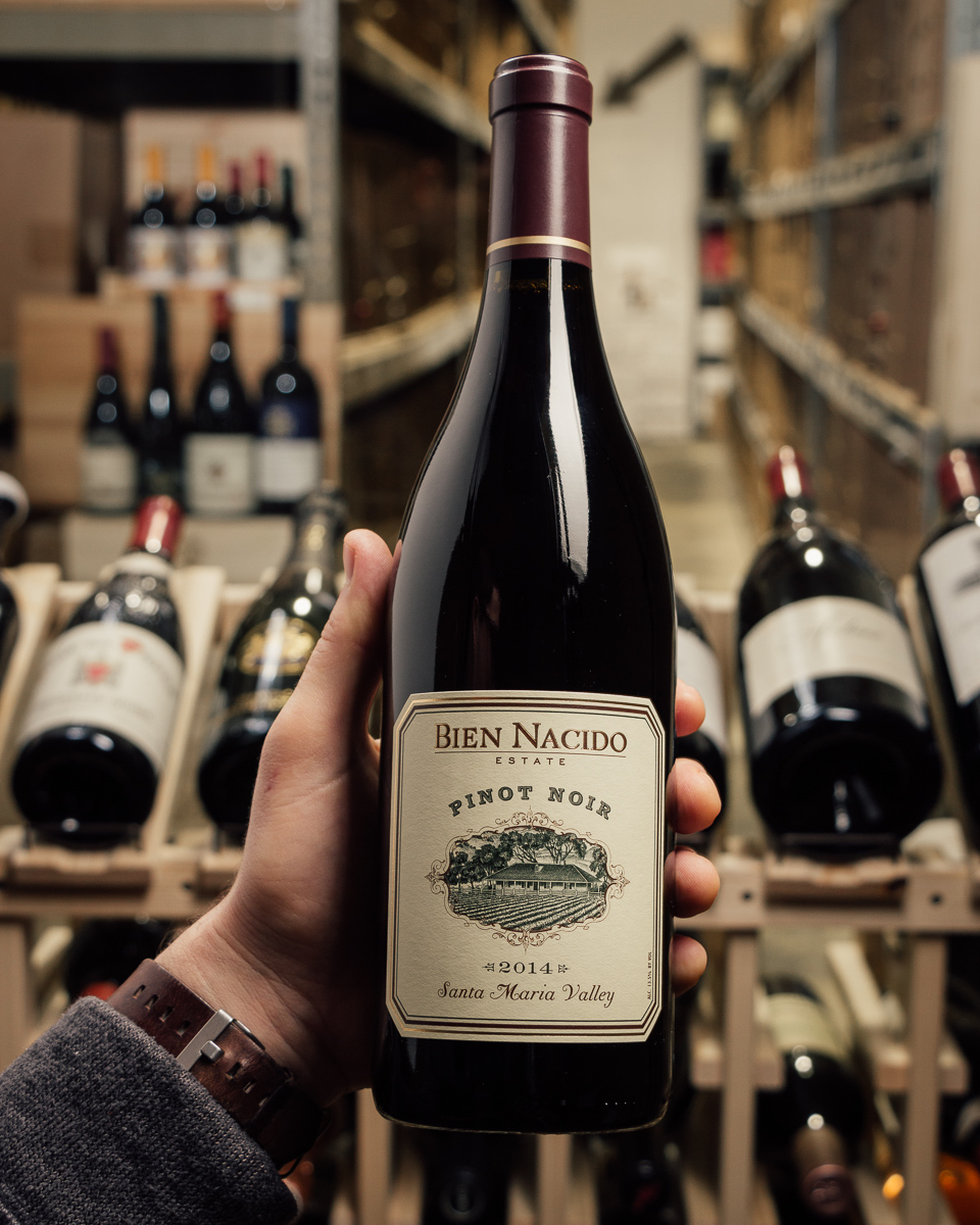 Bien Nacido Estate Pinot Noir 2014  - First Bottle