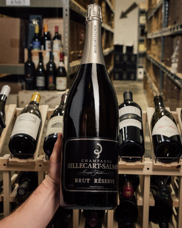 Billecart-Salmon Brut Reserve NV (3L Double Magnum)  - First Bottle