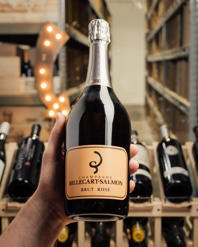 Billecart-Salmon Brut Rose NV  - First Bottle
