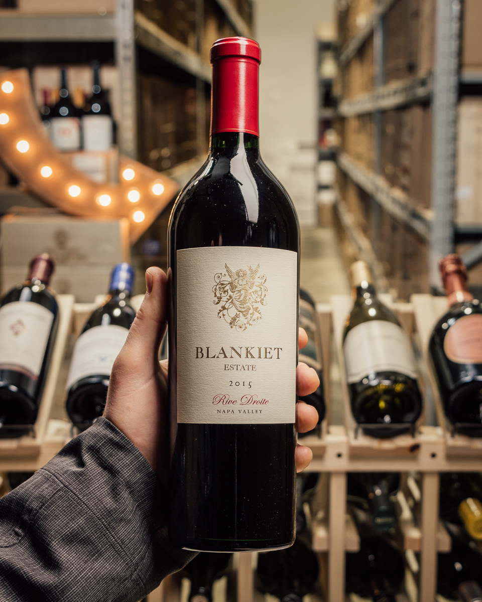 Blankiet Proprietary Red Rive Droite 2015  - First Bottle