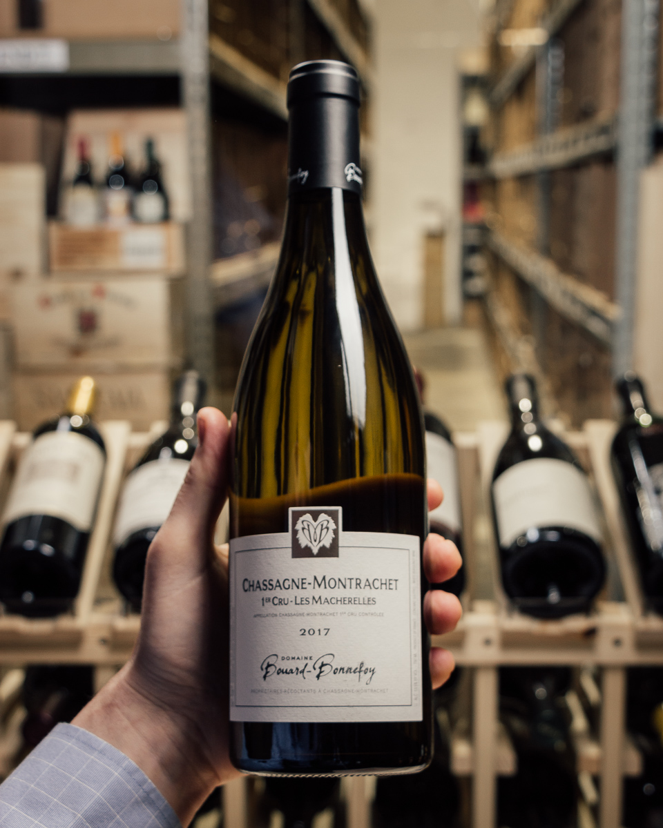 Bouard Bonnefoy Chassagne-Montrachet Les Macherelles 1er Cru 2017  - First Bottle
