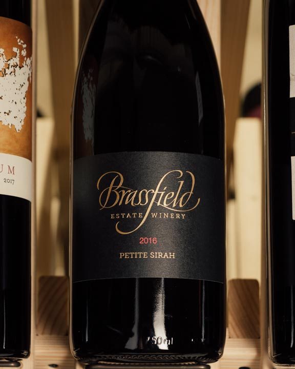 Brassfield Petite Sirah High Valley 2016