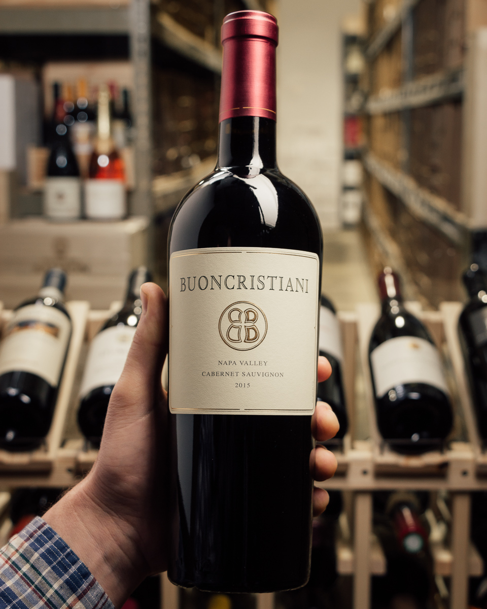 Buoncristiani Cabernet Sauvignon Napa Valley 2015  - First Bottle