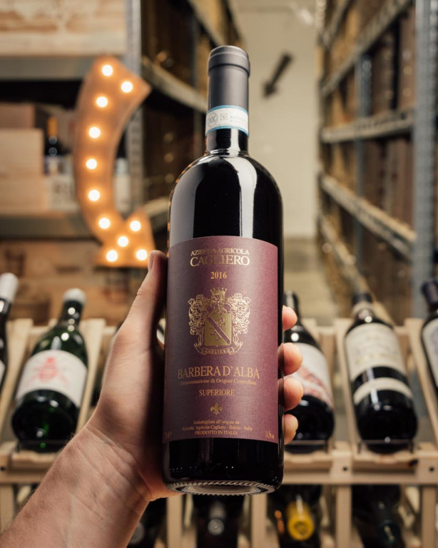 Cagliero Barbera d'Alba Superiore 2016  - First Bottle