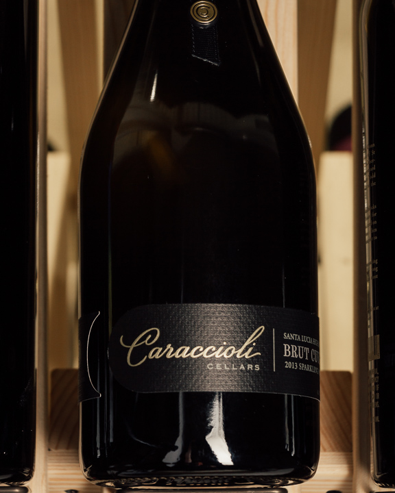 Caraccioli Estate Brut Cuvee Santa Lucia Highlands 2013