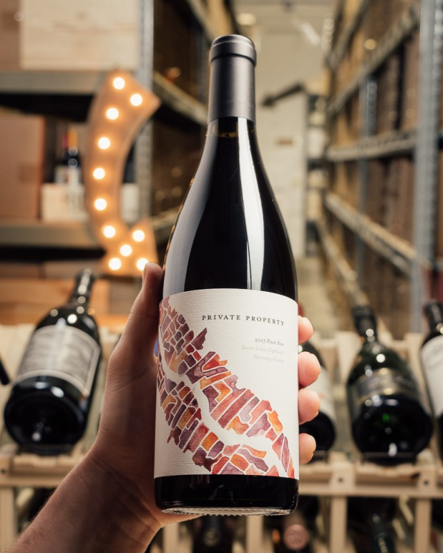 Caraccioli Pinot Noir Private Property 2017  - First Bottle