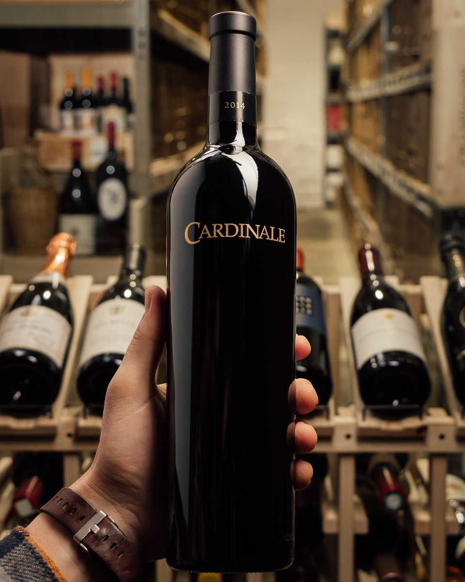 Cardinale Cabernet Sauvignon Napa Valley 2014  - First Bottle