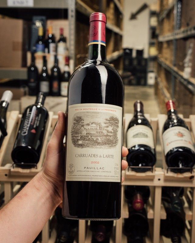 Carruades de Lafite Pauillac 2002 (Magnum 1.5L)  - First Bottle