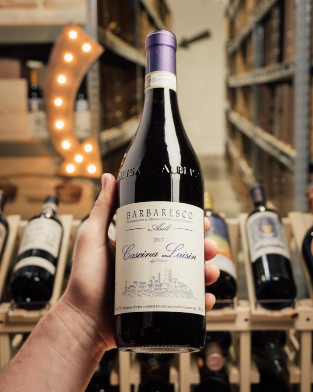 Cascina Luisin Barbaresco Asili 2017  - First Bottle