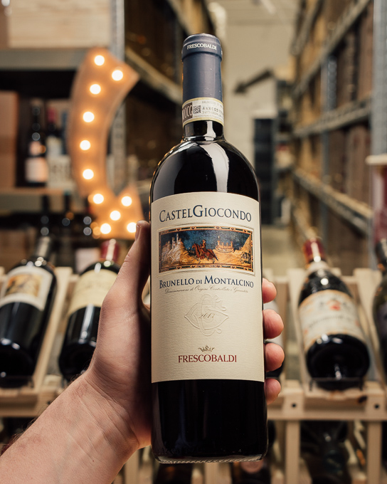 Frescobaldi Brunello di Montalcino CastelGiocondo 2013  - First Bottle