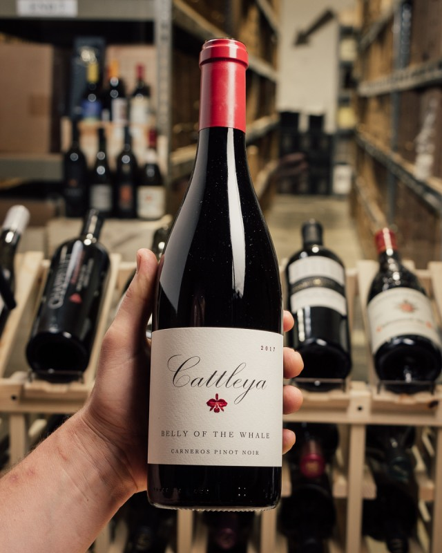 Cattleya Pinot Noir Belly of the Whale Carneros 2017  - First Bottle