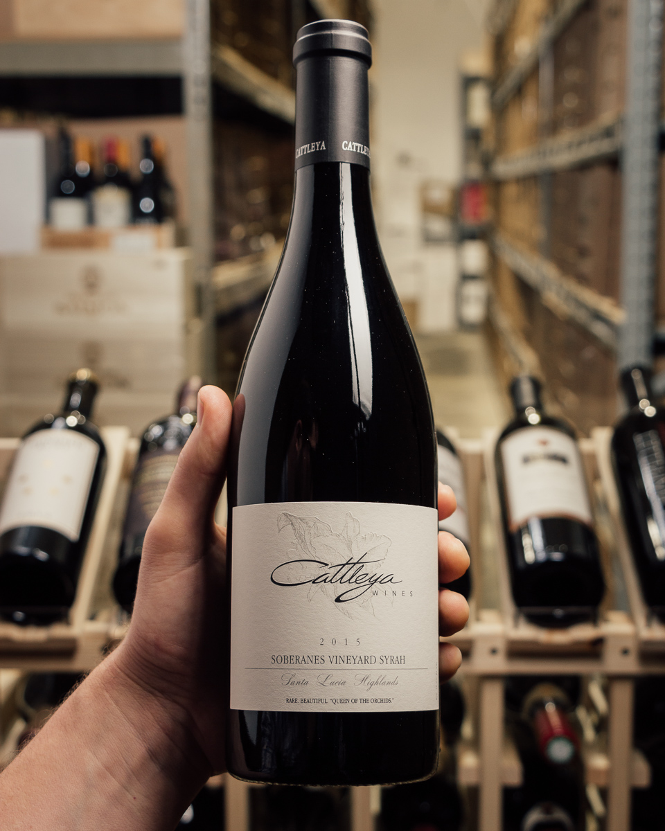 Cattleya Syrah Soberanes Vineyard 2015  - First Bottle