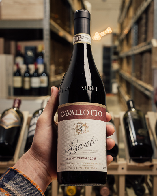 Cavallotto Barolo Riserva Vignolo 2008  - First Bottle