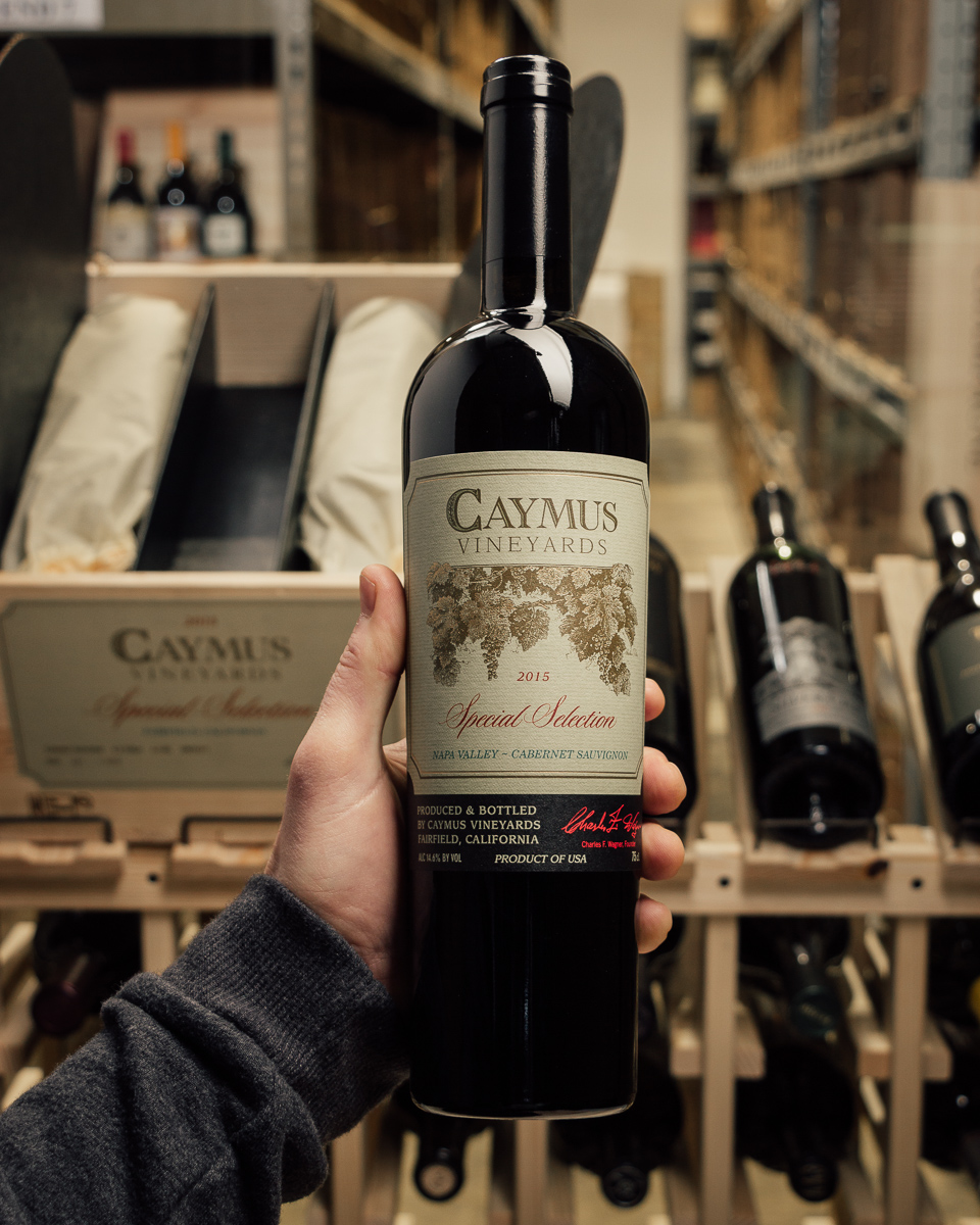 Caymus Cabernet Sauvignon Special Selection 2015  - First Bottle