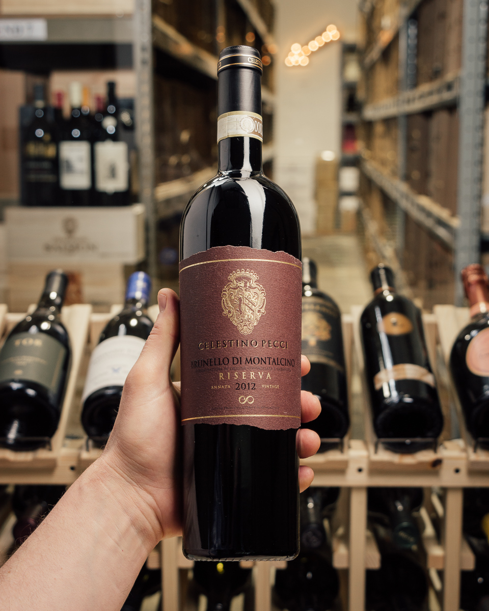 Celestino Pecci Brunello Riserva 2012  - First Bottle