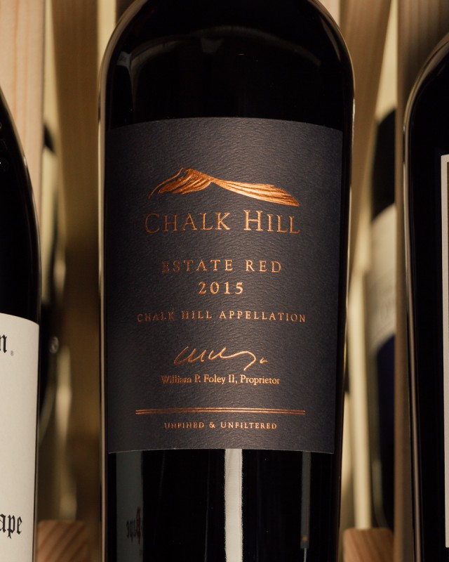Chalk Hill Proprietary Red Estate 2015