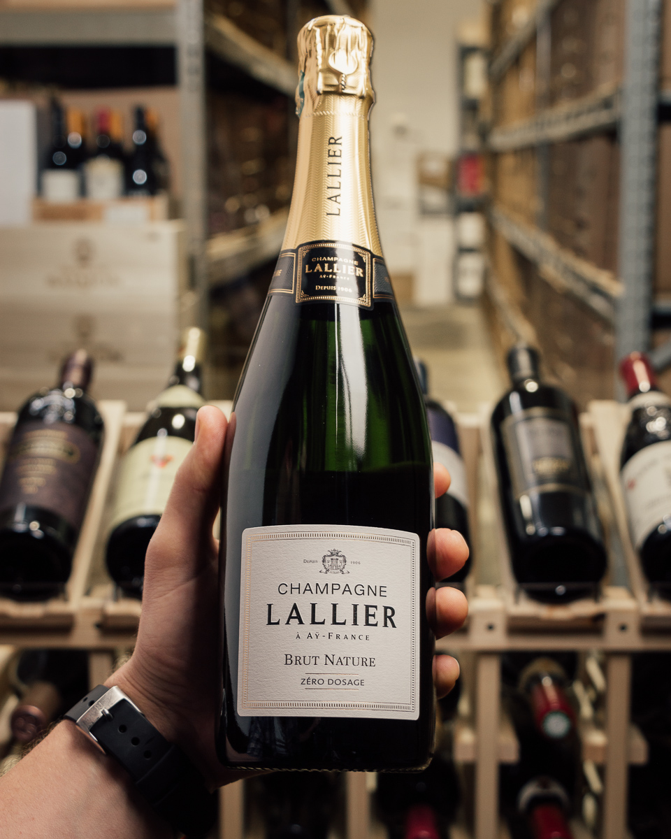 Champagne Lallier Brut Nature NV  - First Bottle