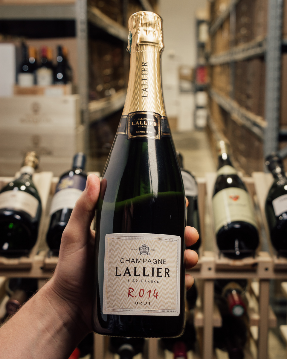 Champagne Lallier Brut R.014 NV  - First Bottle