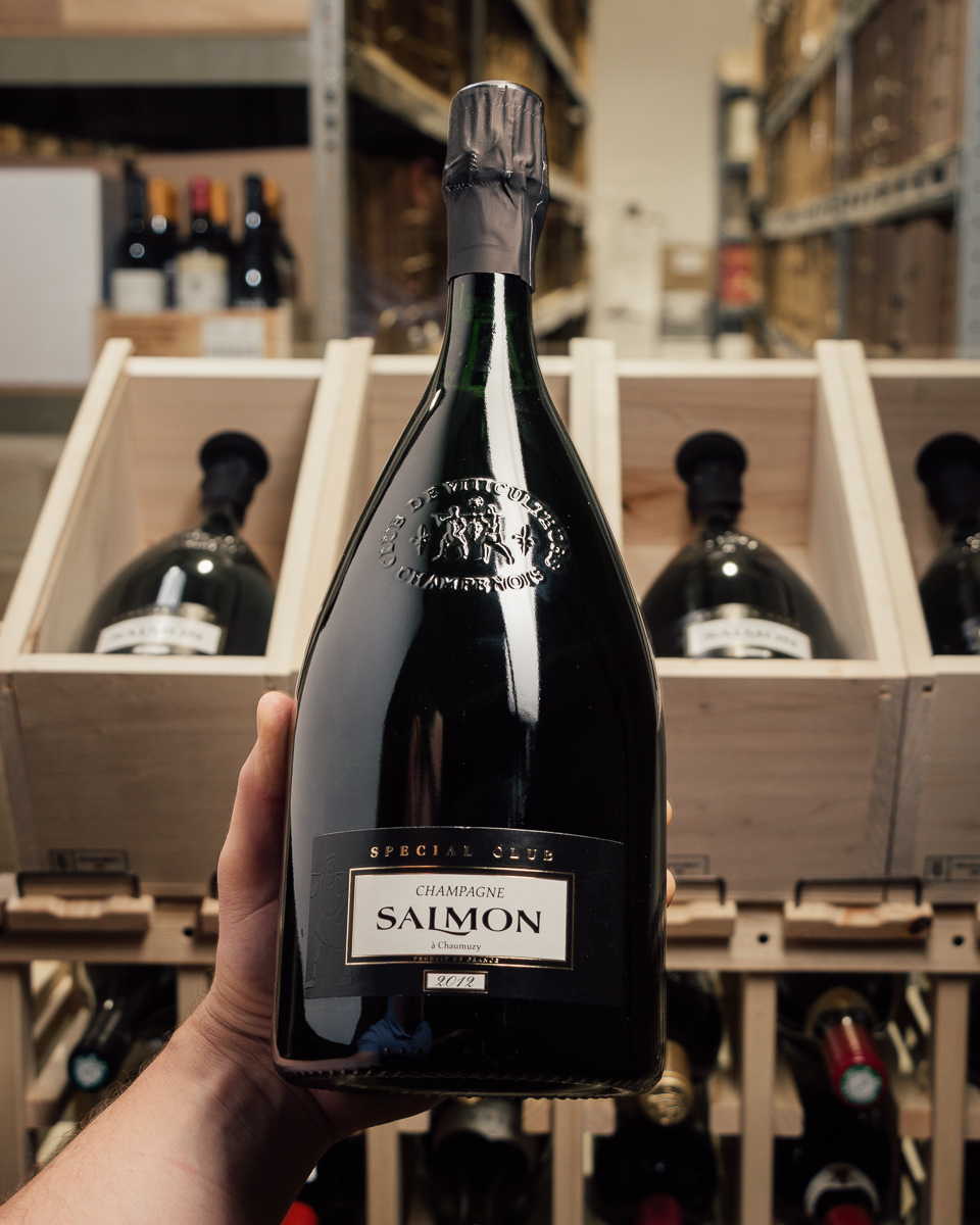 Champagne Salmon Blanc de Noirs Special Club 2012 (Magnum 1.5L)  - First Bottle