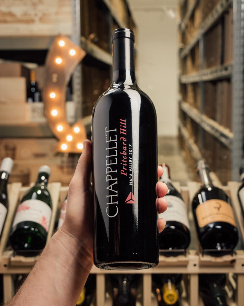 Chappellet Cabernet Sauvignon Pritchard Hill 2017  - First Bottle