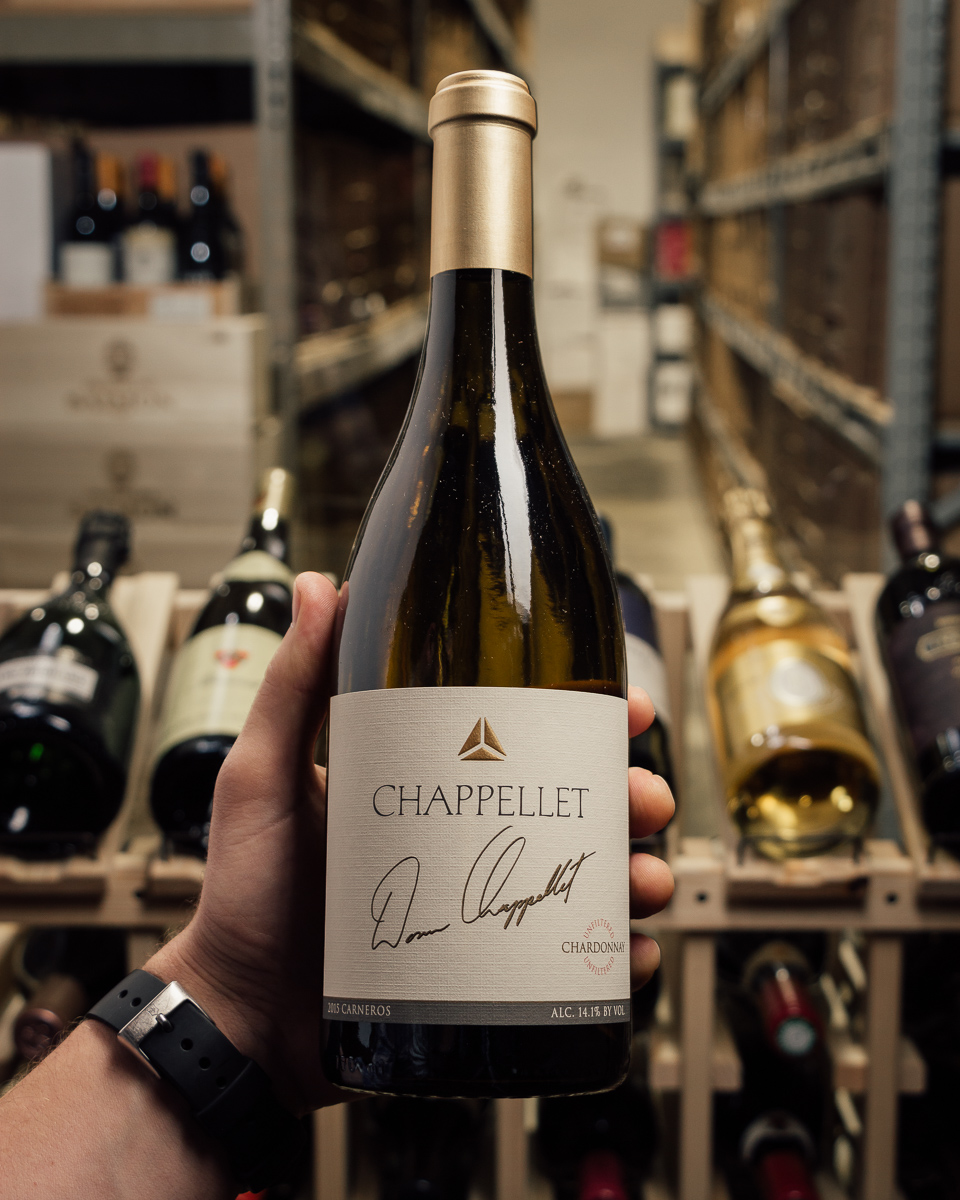 Chappellet Chardonnay Signature 2015  - First Bottle