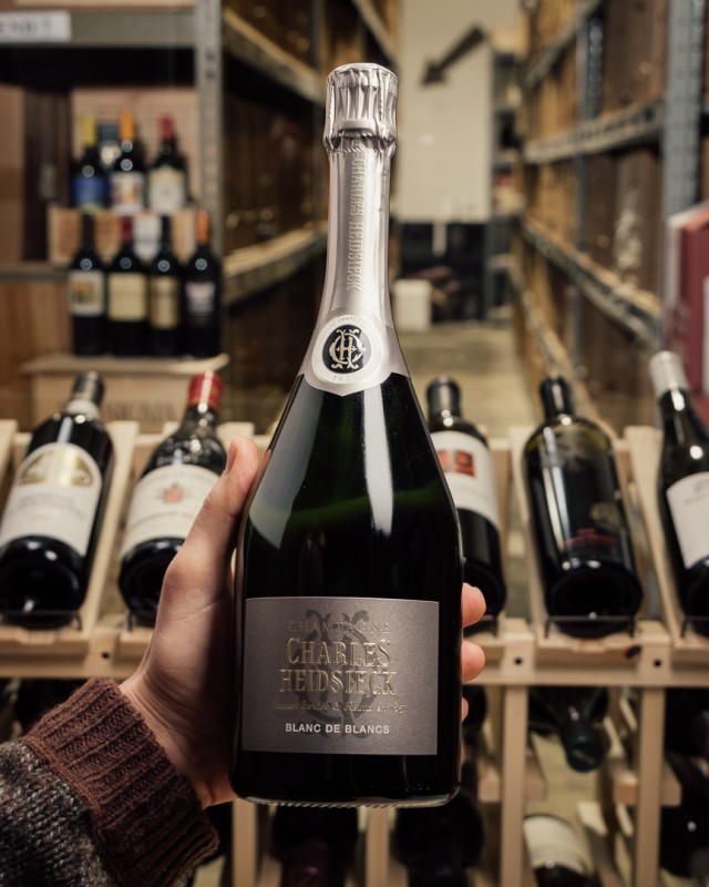 Charles Heidsieck Blanc de Blancs NV  - First Bottle