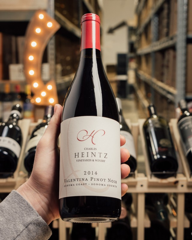 Charles Heintz Vineyards Pinot Noir Valentina 2014  - First Bottle