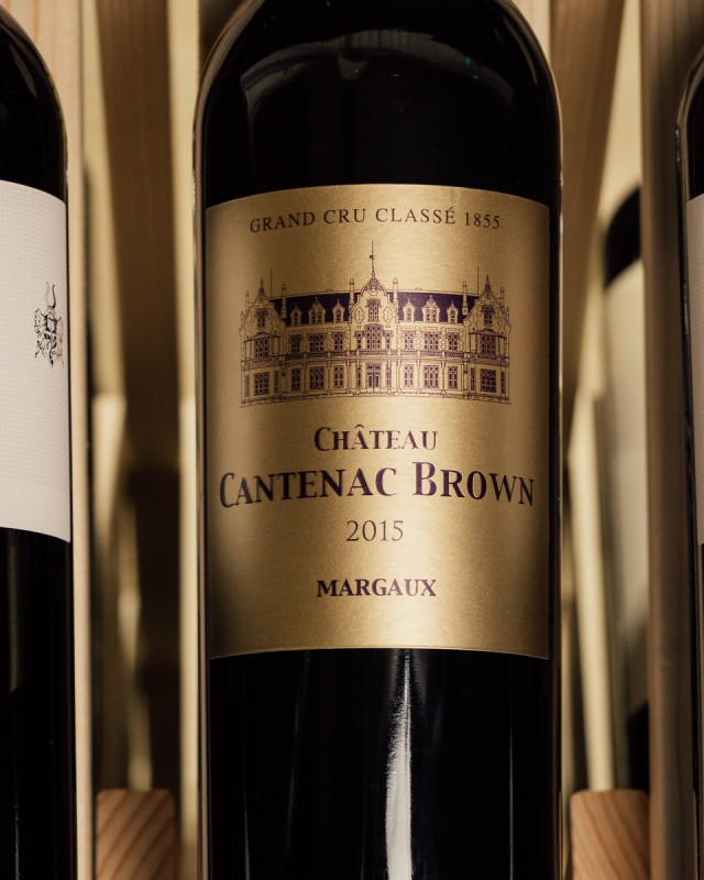 Chateau Cantenac Brown Margaux 2015