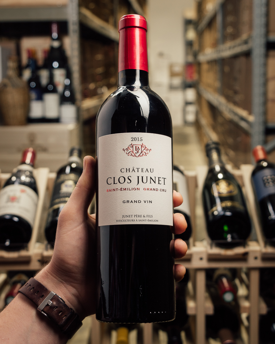 Chateau Clos Junet Saint Emilion Grand Cru 2015  - First Bottle