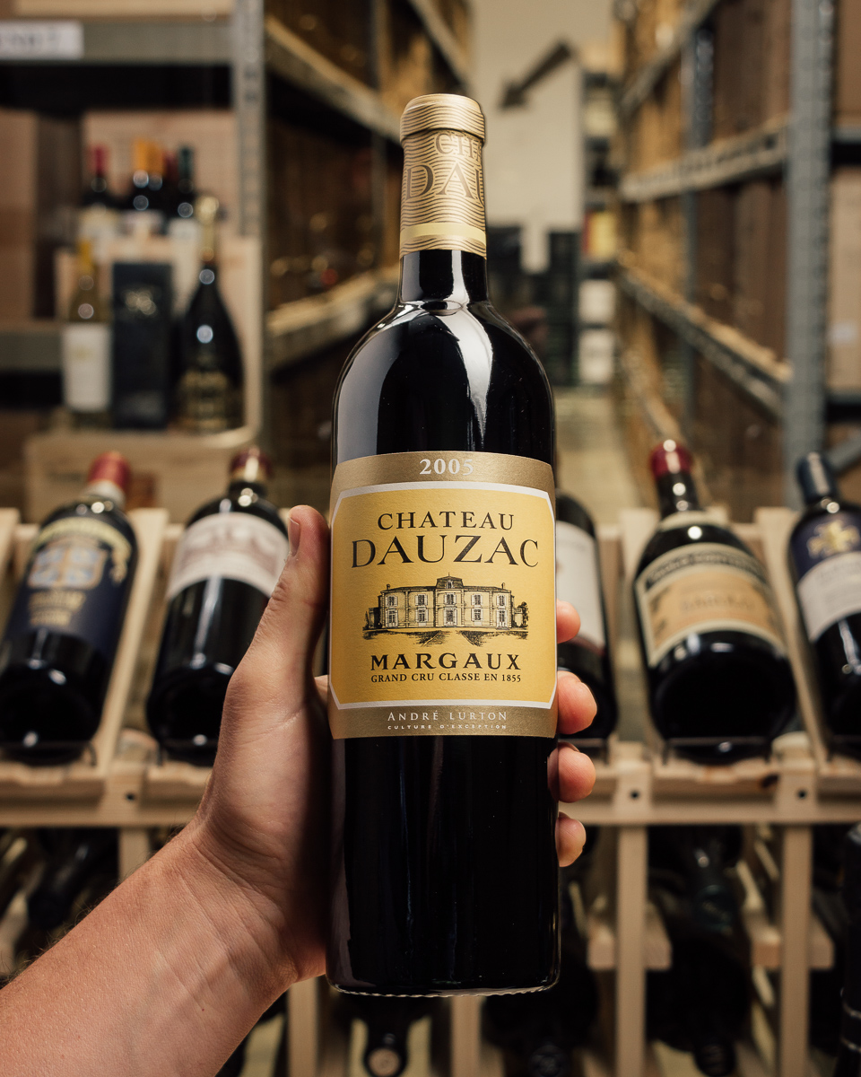 Chateau Dauzac Margaux 2005  - First Bottle