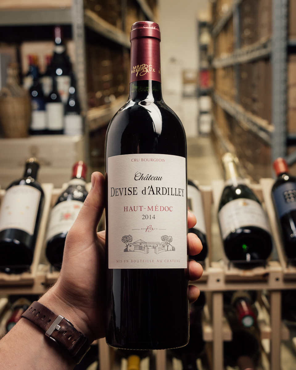 Chateau Devise D`Ardilley Haut Medoc Cru Bourgeois 2014  - First Bottle